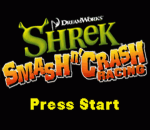 Shrek - Smash n' Crash Racing title screenshot