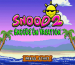 Snood 2 - On Vacation title screenshot