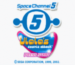 Space Channel 5 - Ulala's Cosmic Attack title screenshot