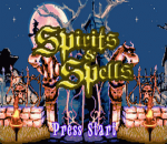 Spirits & Spells title screenshot