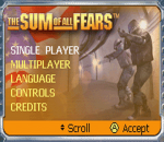 Sum of All Fears, The title screenshot