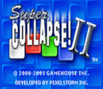 Super Collapse! II title screenshot