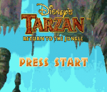 Tarzan - Return to the Jungle title screenshot