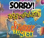 Three-in-One Pack - Sorry! + Aggravation + Scrabble Junior title screenshot