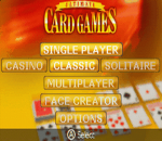Ultimate Card Games title screenshot