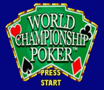 World Championship Poker title screenshot