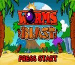 Worms Blast title screenshot