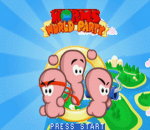 Worms World Party title screenshot