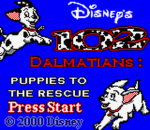 102 Dalmatians - Puppies to the Rescue title screenshot