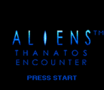 Aliens - Thanatos Encounter title screenshot
