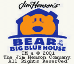 Bear in the Big Blue House title screenshot