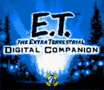 E.T. The Extra Terrestrial - Digital Companion title screenshot