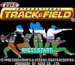 ESPN International Track & Field title screenshot