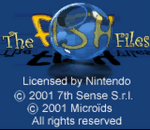 Fish Files, The title screenshot