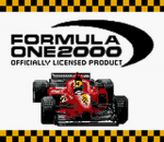 Formula One 2000 title screenshot