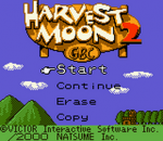 Harvest Moon 2 GBC title screenshot