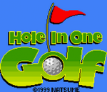 Hole In One Golf title screenshot