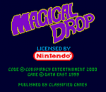 Magical Drop title screenshot