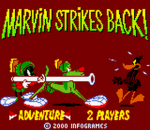 Marvin Strikes Back! title screenshot