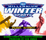 Millennium Winter Sports title screenshot