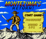 Montezuma's Return! title screenshot