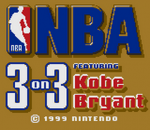 NBA 3 on 3 featuring Kobe Bryant title screenshot