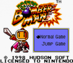 Pocket Bomberman title screenshot