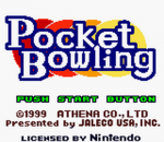 Pocket Bowling title screenshot