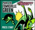 Powerpuff Girls, The - Paint the Townsville Green title screenshot