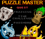 Puzzle Master title screenshot