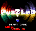 Puzzled title screenshot