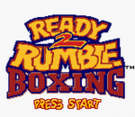 Ready 2 Rumble Boxing title screenshot