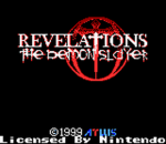 Revelations - The Demon Slayer title screenshot