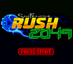 San Francisco Rush 2049 title screenshot