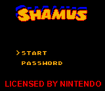 Shamus title screenshot