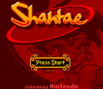Shantae title screenshot