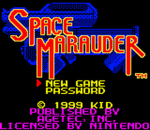 Space Marauder title screenshot