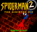 Spider-Man 2 - The Sinister Six title screenshot