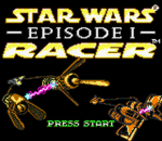 Star Wars Episode I - Racer title screenshot
