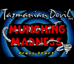 Tazmanian Devil - Munching Madness title screenshot