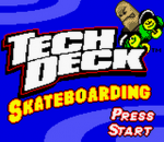 Tech Deck Skateboarding title screenshot