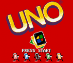 Uno title screenshot