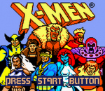 X-Men - Mutant Academy title screenshot