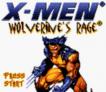 X-Men - Wolverine's Rage title screenshot