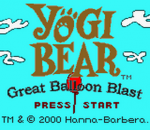 Yogi Bear - Great Balloon Blast title screenshot
