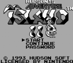 Adventure Island II - Aliens in Paradise title screenshot