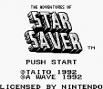 Adventures of Star Saver, The title screenshot