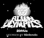 Alien Olympics title screenshot