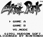 Atomic Punk title screenshot