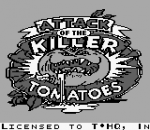 Attack of the Killer Tomatoes title screenshot